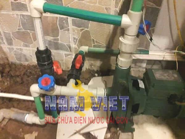 Lắp máy bơm nước tại Gò Vấp