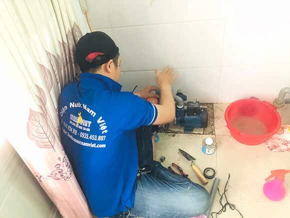 Sửa máy bơm nước tại quận Gò Vấp
