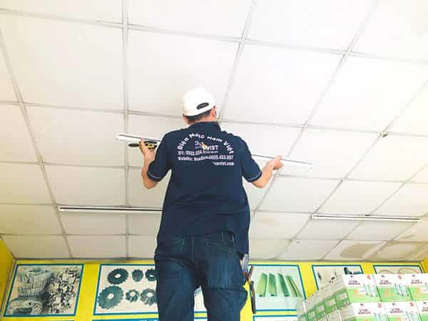 Thợ lắp đèn tại quận Gò Vấp