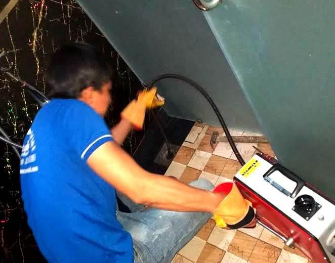 Thông tắc ống nước thải tại quận Phú Nhuận