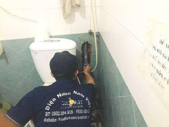 Dò tìm rò rỉ nước âm tường quận Phú Nhuận