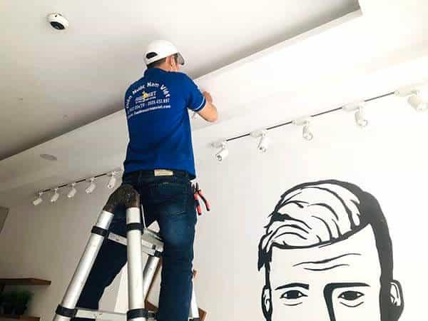 Lắp đặt, sửa bóng đèn led âm trần tại nhà