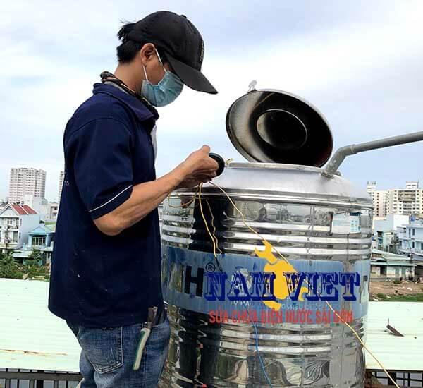Thay phao điện, phao cơ bồn nước tại quận Tân Bình
