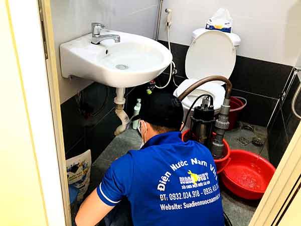 Thông tắc nghẹt lavabo tại quận Tân Phú